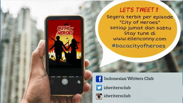 Tweet city of heroes