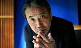 Haruki Murakami at the Edinburgh international books festival in August.